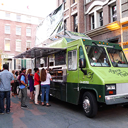 Food Trucks / accept payments anywhere, securely and easily