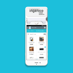 Ingenico Group - RP450c NFC Chip & Sign Mobile Card Reader
